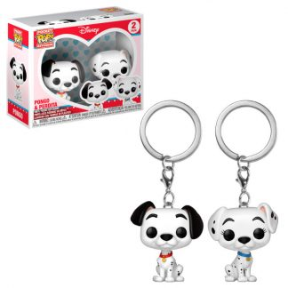 Pack llaveros Pocket POP Disney Pongo & Perdita