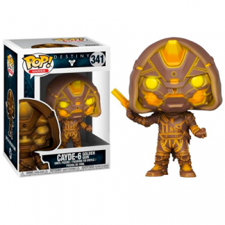 Figura Pop Destiny Cayde 6 Golden Gun