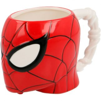 Taza 3D Cabeza Spiderman Marvel