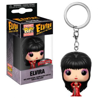 Llavero Pocket POP Elvira Red Dress Exclusive