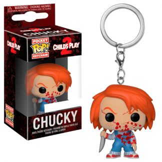 Llavero Pocket POP Horror Chucky Bloody Exclusive