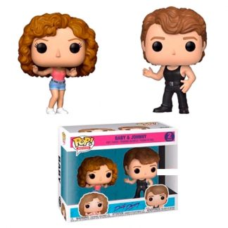 Set 2 figuras POP Dirty Dancing Johnny & Baby Exclusive