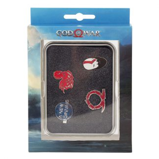 Set 4 pin Nordico God of War