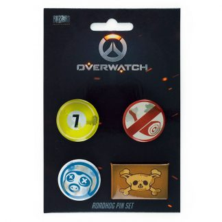 Set 4 pin Roadhog Overwatch