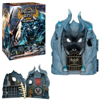 Figura action DC Primal Age Batcave Play Set