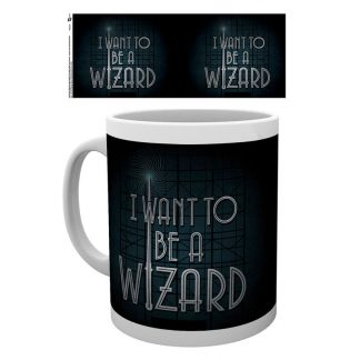 Taza Fantastic Beasts I Want to be a Wizard