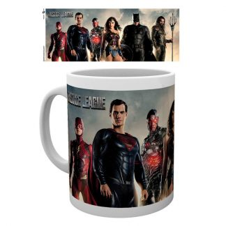 Taza Justice League Movie characters