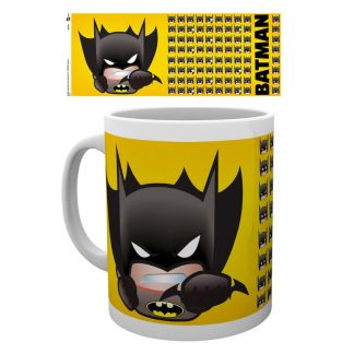 Taza Emoji Batman DC