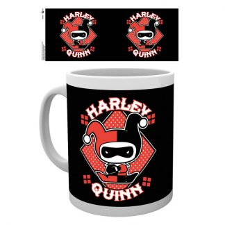 Taza Justice League Harley Quinn Chibi DC
