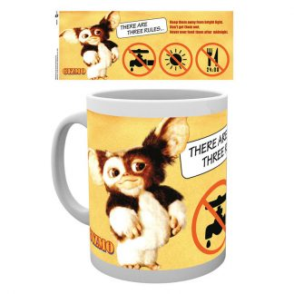 Taza Gremlins Three Rules