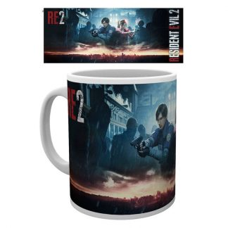 Taza Resident Evil 2 City Key Art