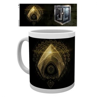 Taza logo Justice League Movie Aquaman