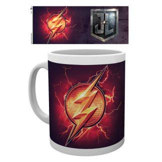 Taza logo Justice League Movie Flash