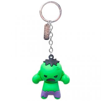 Llavero Marvel Rubber Hulk 3d