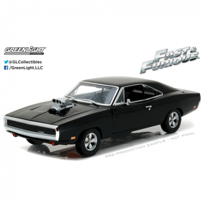 """Dodge Charger """"Fast & Furious"""" (1970) Greenlight 1/18"""