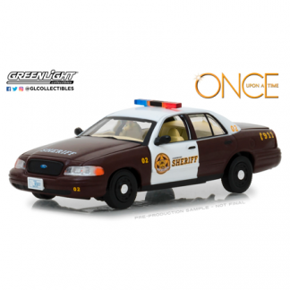 """Ford Crown Victoria Policia """"Once Upon A Time"""" (2005) Greenlight 1/43"""