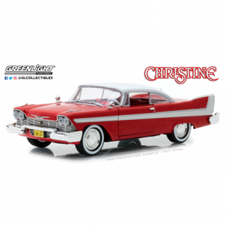 "Plymouth Fury ""Christine""(1958) Greenlight 1/24"