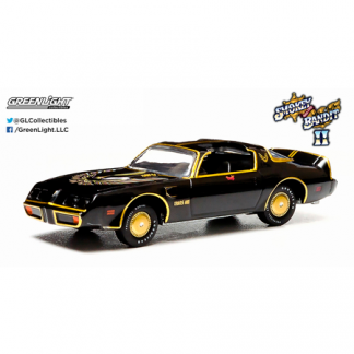 "Pontiac Trans Am ""Smokey and the Bandit"" (1980) Greenlight 1/64"