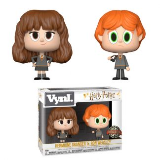 Figuras Vynl Harry Potter Ron & Hermione Broken Wand Exclusive