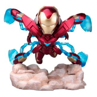 Figura Mini Egg Attack Iron Man MK50 Marvel