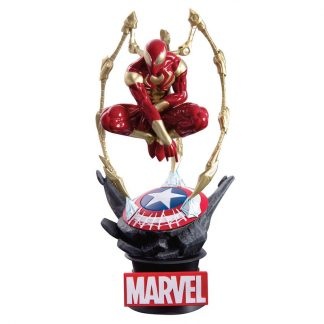 Figura D-Stage Iron Spider Man Marvel