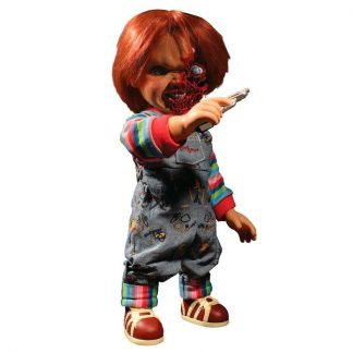 Figura Talking Pizza Face Chucky 37cm sonido