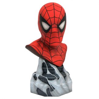Busto resina Spiderman Marvel Legends Comics