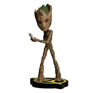 Figura Groot Vengadores Marvel Head Knocker
