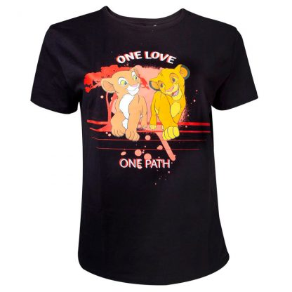 Camiseta One Love Rey León Disney unisex