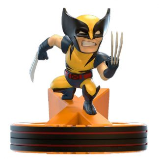 Diorama Q-Fig Wolverine X-Men Marvel