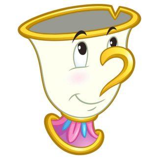 Toalla Chip La Bella y la Bestia Disney microfibra