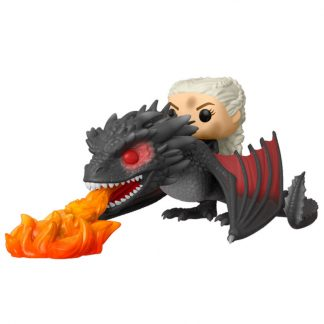 Figura POP Juego de Tronos Daenerys on Fiery Drogon