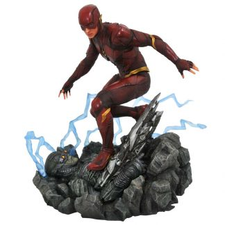 Estatua diorama The Flash Liga de la Justicia DC Comics 23cm