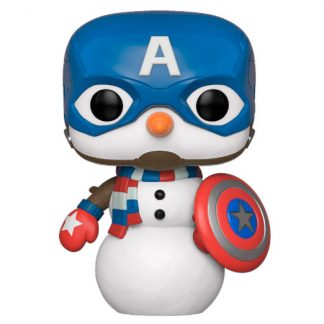 Figura POP Marvel Holiday Capitán América