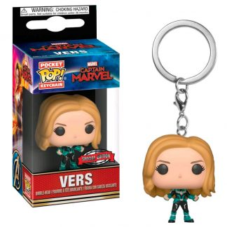 Llavero Pocket POP Marvel Capitana Marvel Exclusive