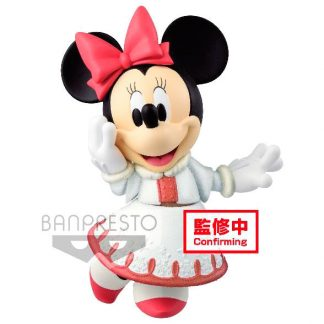 Figura Minnie Fluffy Puffy Disney Q Posket 10cm