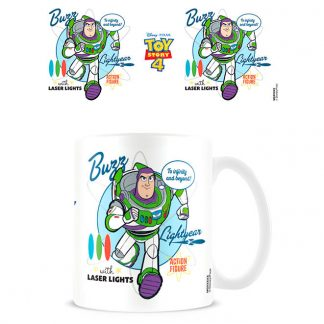 Taza To Infinity and Beyond Buzz Lightyear Toy Story 4 Disney Pixar