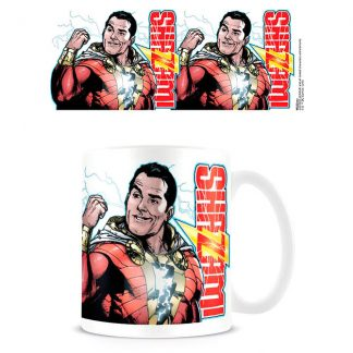 Taza Flexing Up a Storm Shazam DC Cómics