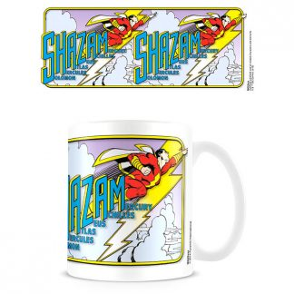 Taza Sky High Shazam DC Cómics