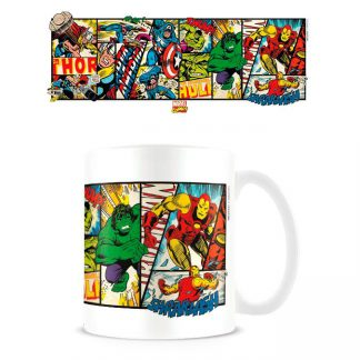 Taza Cómics Retro Marvel