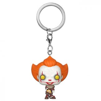 Llavero Pocket POP IT Chapter 2 Pennywise with Beaver Hat