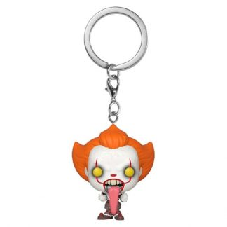 Llavero Pocket POP IT Chapter 2 Pennywise with Dog Tongue