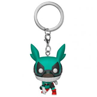 Llavero Pocket POP My Hero Academy Deku with Helmet