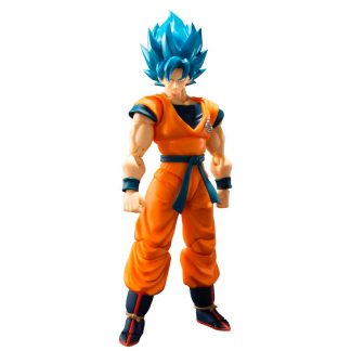 Figura articulada Super Saiyan God Super Saiyan Son Goku Dragon Ball Super Broly 14cm