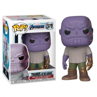 Figura POP Marvel Vengadores Endgame Casual Thanos with Gauntlet