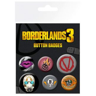 Set chapas Borderlands 3