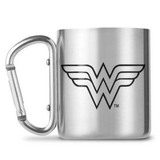 Taza mosquetón Wonder Woman DC Cómics