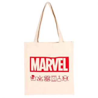 Bolso shopping tela Marvel