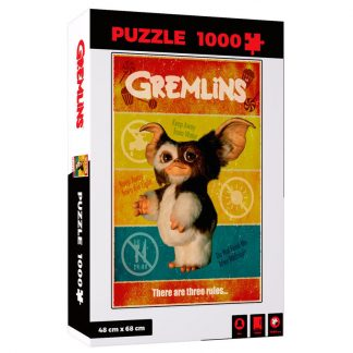 Puzzle There Are Three Rules Gremlins 1000pzs