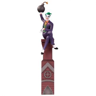 Estatua resina Joker DC Batman Rogues Gallery 30cm